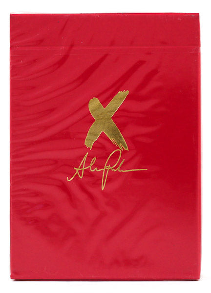 X Deck Red - BAM Playing Cards (6431783649429)