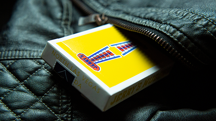Jerry's Nuggets - Vintage Feel Yellow - BAM Playing Cards