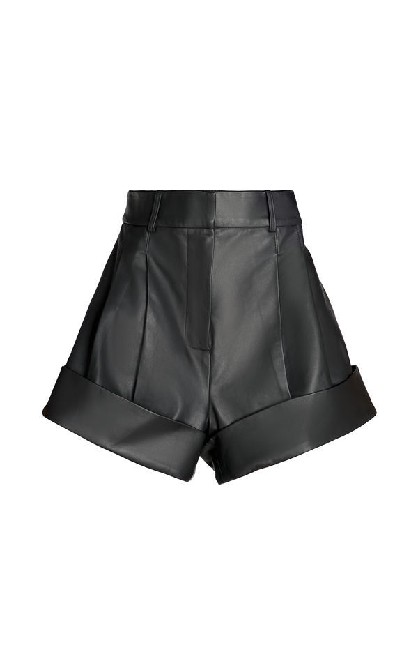 CARNALIS LEATHER SHORT