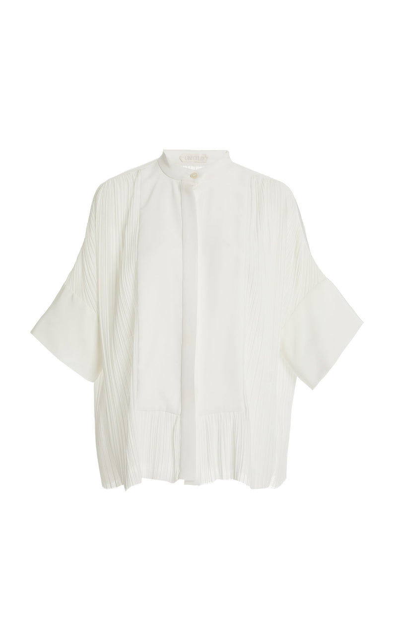 Alia Pleated Top