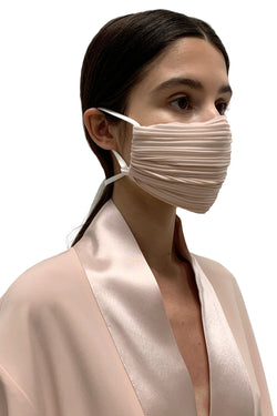 Desert Rose Pleated Face Mask