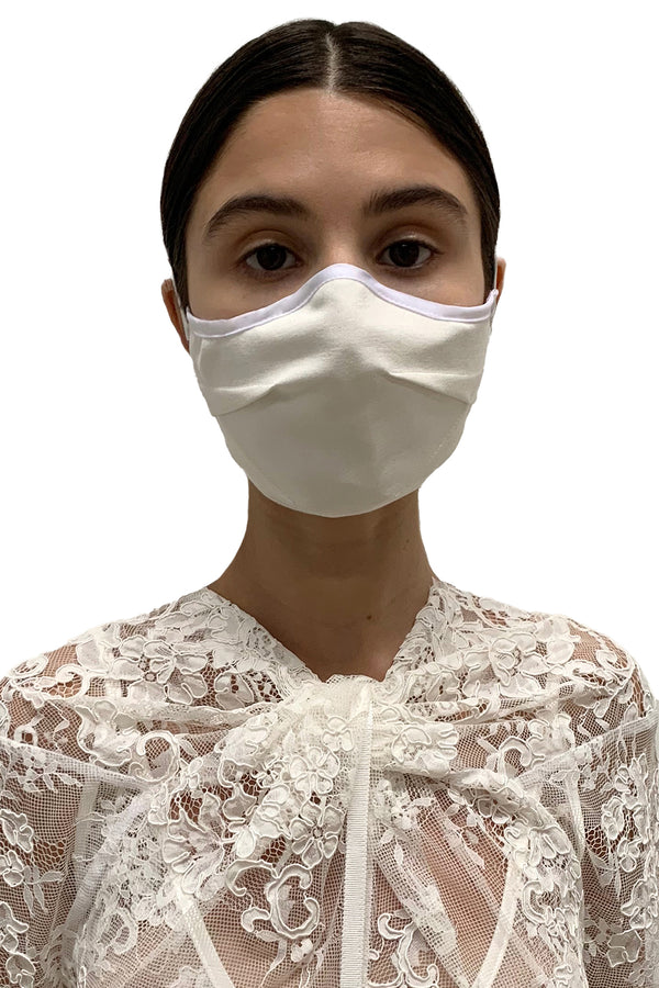 Off-white Darted Face Mask