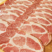 Load image into Gallery viewer, Applewood Smoked Capocollo Sliced Ham