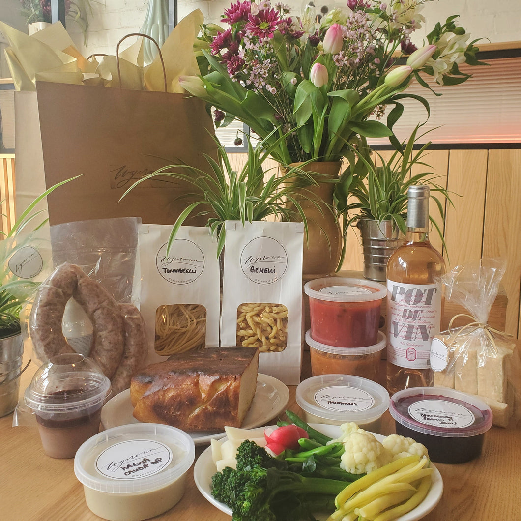 Mother's Day Meal Basket