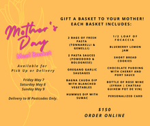 Load image into Gallery viewer, Mother's Day Meal Basket