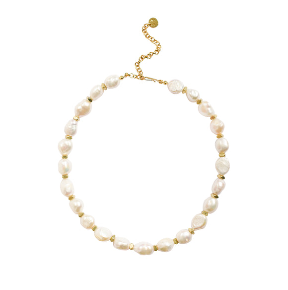 Pearl Nugget Necklace