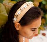 Mixed Shells Wide Headband