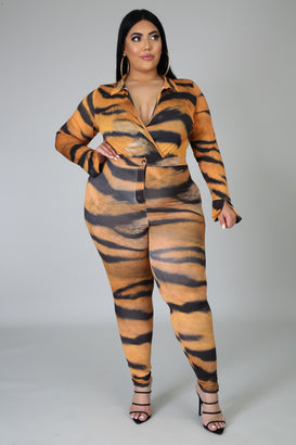 Going Wild Pants Set - Almond Milk Collection