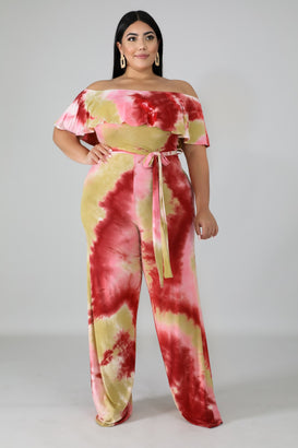 Strawberry Shortcake Jumpsuit - Almond Milk Collection