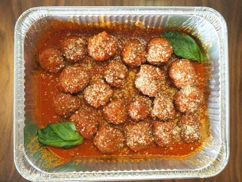 Homemade Meatballs - serves 5