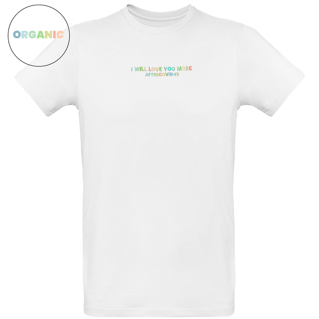 T-SHIRT MEN BIANCA - I WILL LOVE YOU MORE