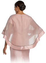 Load image into Gallery viewer, Donna Vinci 2 Pc. Dress & Cape Set - 11783