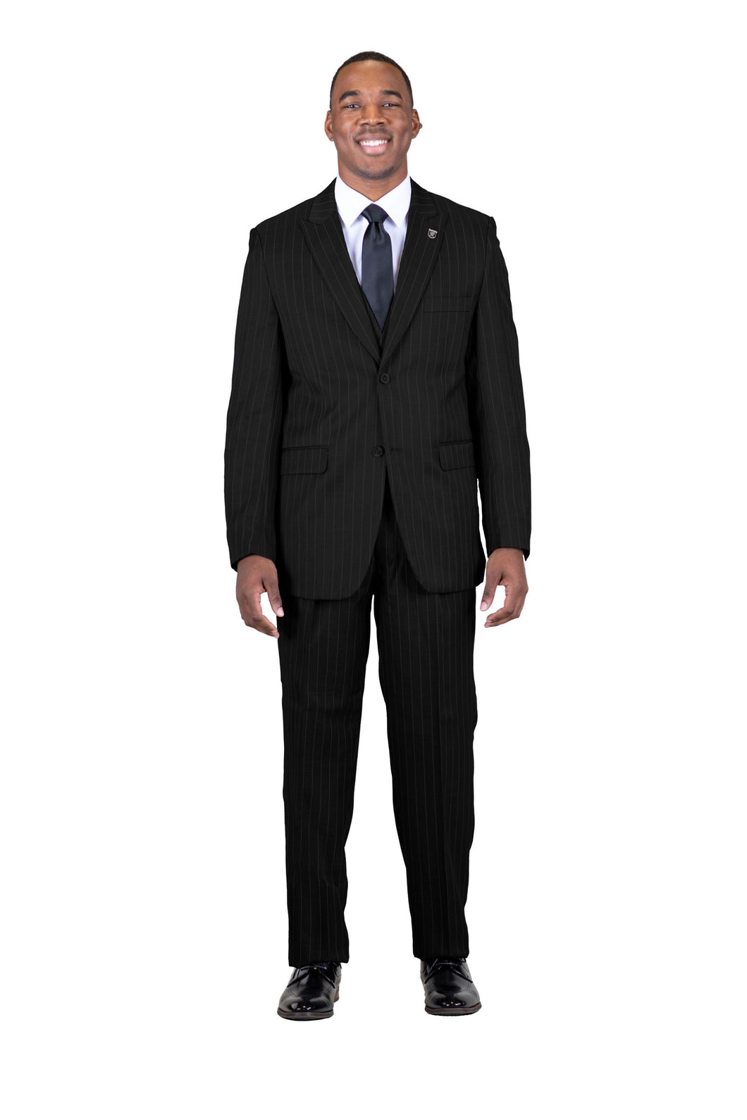Stacy Adams Single Breasted 2 Button Suit - 4017 MARS VESTED (3 Colors)