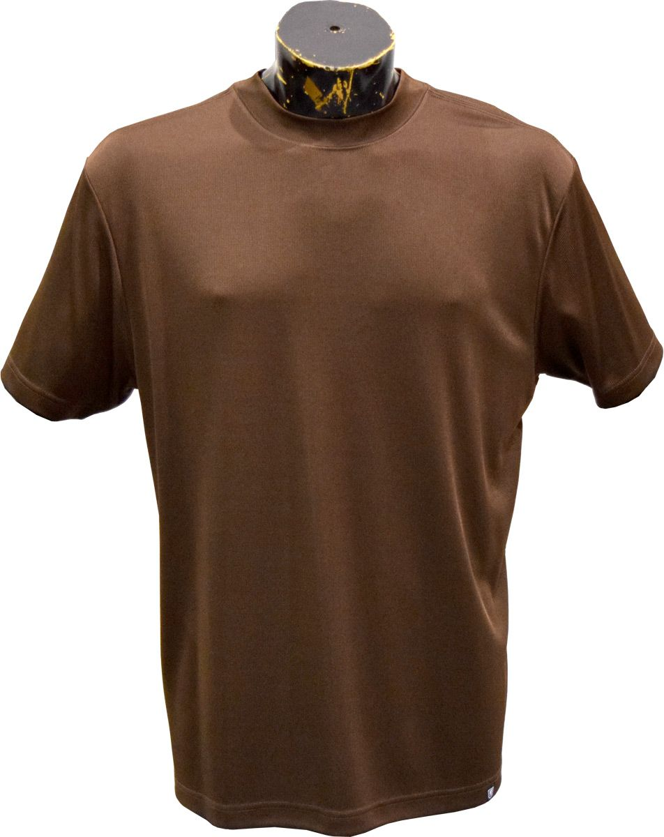 Stacy Adams Men's Dressy Ribbed Shirt Sleeved  SKU: 5002 Color - Brown