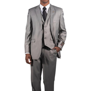 FALCONE - Single Breasted Two Button Suit - 5306 PETT VESTED