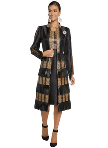 Donna Vinci knit 2 piece Jacket and Dress Set - 5635