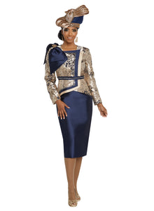 Donna Vinci knit 2 Piece Jacket and Skirt Set - 5636