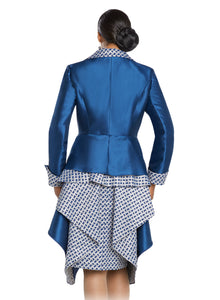 Donna Vinci knit 2 piece Jacket and Dress Set - 5637