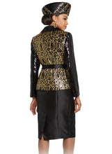 Load image into Gallery viewer, Donna Vinci knit 2 piece Jacket and Dress Set - 5642