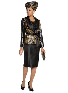 Donna Vinci knit 2 piece Jacket and Dress Set - 5642