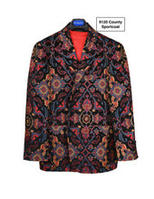 Load image into Gallery viewer, Stacy Adams Multi Color Print Sport Coat - 9120 County SC