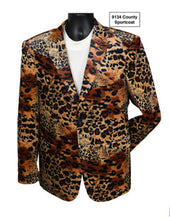 Load image into Gallery viewer, Stacy Adams Animal Print Sport Coat - 9134 County SC