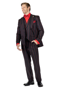 Stacy Adams Single Breasted 1 Button 2PC Suit - 9184 KEN VESTED (2 Colors)