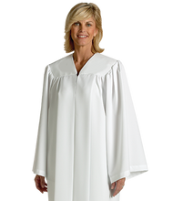 Load image into Gallery viewer, White Baptismal Robe - H-152