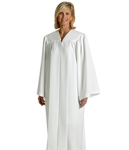 White Baptismal Robe - H-152