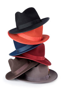 Many color  montique felt  hat 56