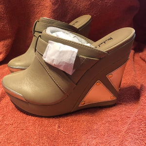 Michael Antonio Wedge Clog Graphic Natural