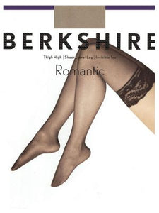 Berkshire Queen Romantic Thigh High sheer Silky Leg 1363