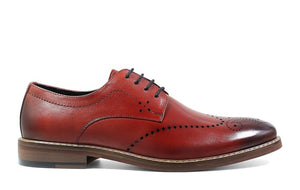 STACY ADAMS MEN'S ALAIRE WING TIP OXFORD