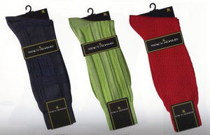 Stacy Adams Silky Mens Dress Socks Luxurious Rayon Blend    SKU : 00003259   Color - Multi