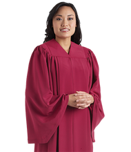 Load image into Gallery viewer, Maroon V Neck Choir Robes - Tempo C-52