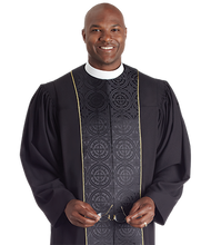 Load image into Gallery viewer, Tailored Black Robe - Vicar II H-218