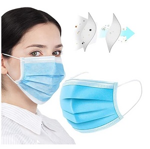 [Free Shipping in US] Disposable Face Mask for Unisex Public Place Outdoor Protection Anti Dust Mask 50Pcs