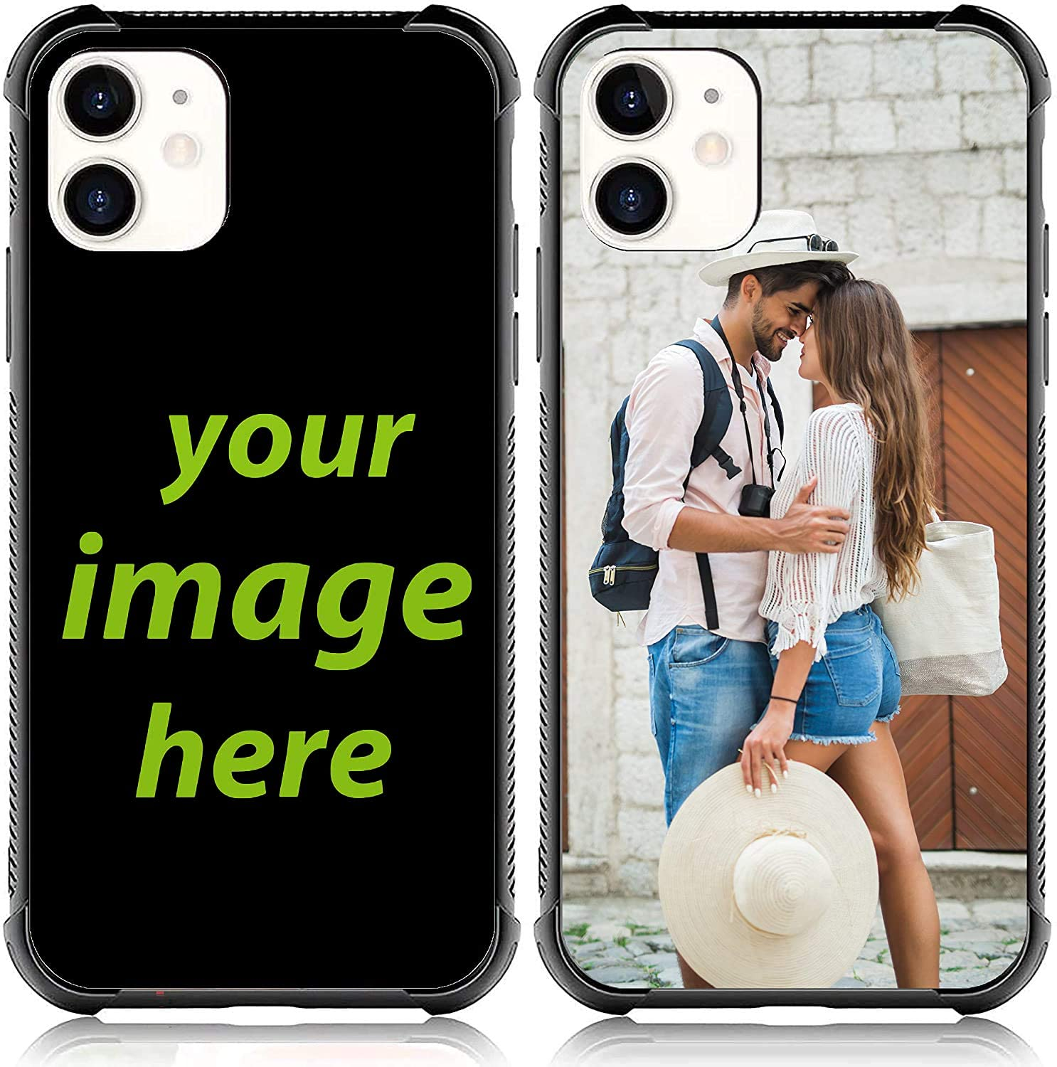 Customized Case for iPhone Samsung Personalized Custom Picture Phone Case Make Your Own Phone Case