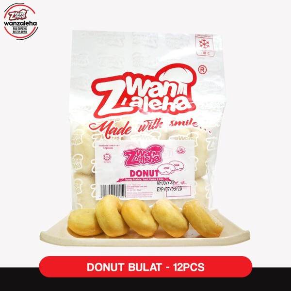 WAN ZALEHA FROZEN DOUGHNUTS / DONUTS WITH SUGAR