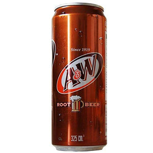 A&W ROOT BEER DRINK 320ML / 24s(ctn)