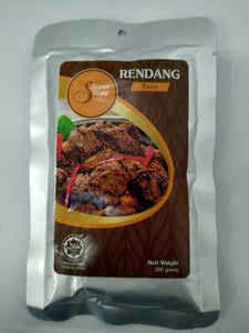 SUPER TASTE READY TO EAT Non-Frozen Paste 200g - RENDANG