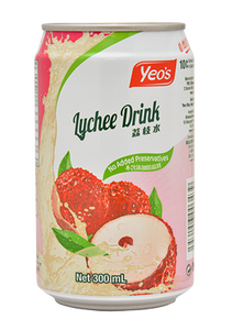 YEO'S LYCHEE DRINK 300ML