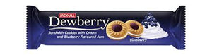 DEWBERRY BLUEBERRY COOKIES 150GM (3A)
