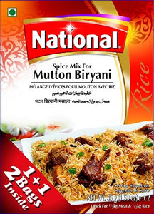PAKISTANI FOODS -  NATIONAL MUTTON BIRYANI / 110g