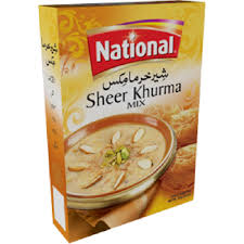 PAKISTANI FOODS -  NATIONAL SHEER KORMA MIX / 160g