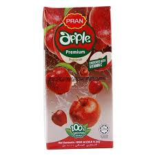 PRAN APPLE JUICE 1 ltr