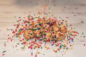 Sweater Box Confections | Confetti Bites Cookies
