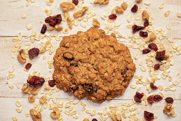 Oatmeal Cranberry Walnut Cookies