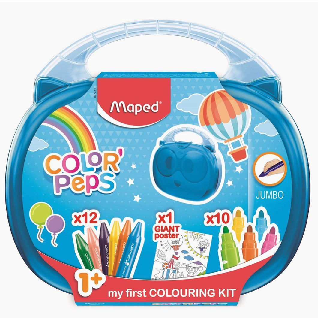 My first colouring kit