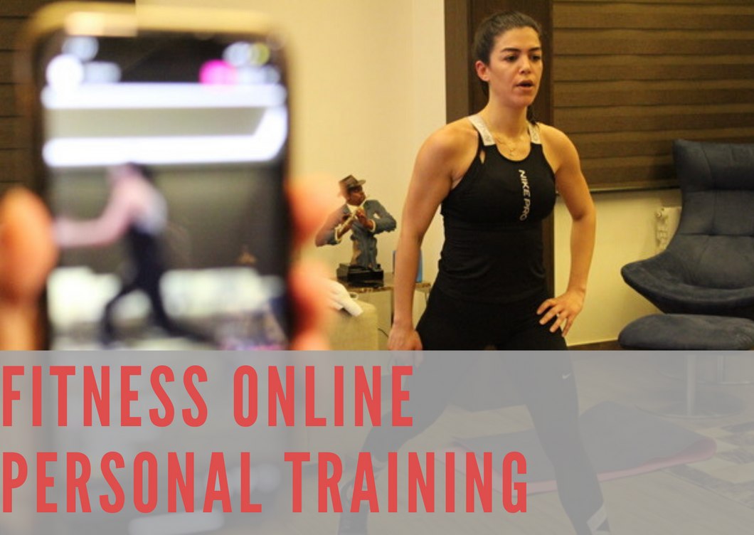 FITNESS ONLINE PERSONAL TRAINING PACKAGE
